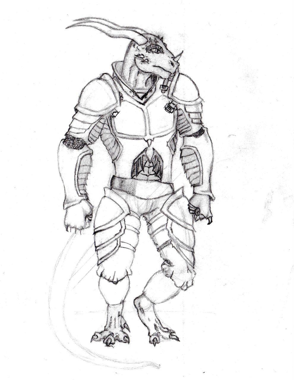 Most recent image: Istharius Armor Design
