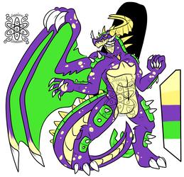 Venomous Male Dragon +Design+ (SOLD)