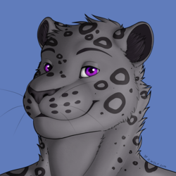 Commission for Fritz Headshot (FullColor)(Clean)