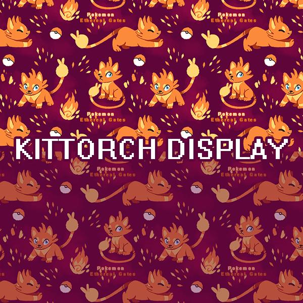 PKMN Ethereal Gates: Kittorch Tile