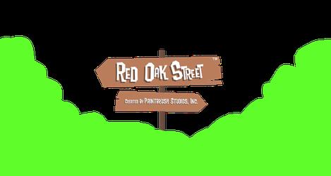 Red Oak Street - Transparent Logo