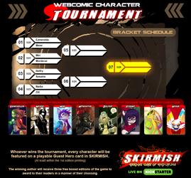 Webcomic Character Tournament- Matchups & Dates