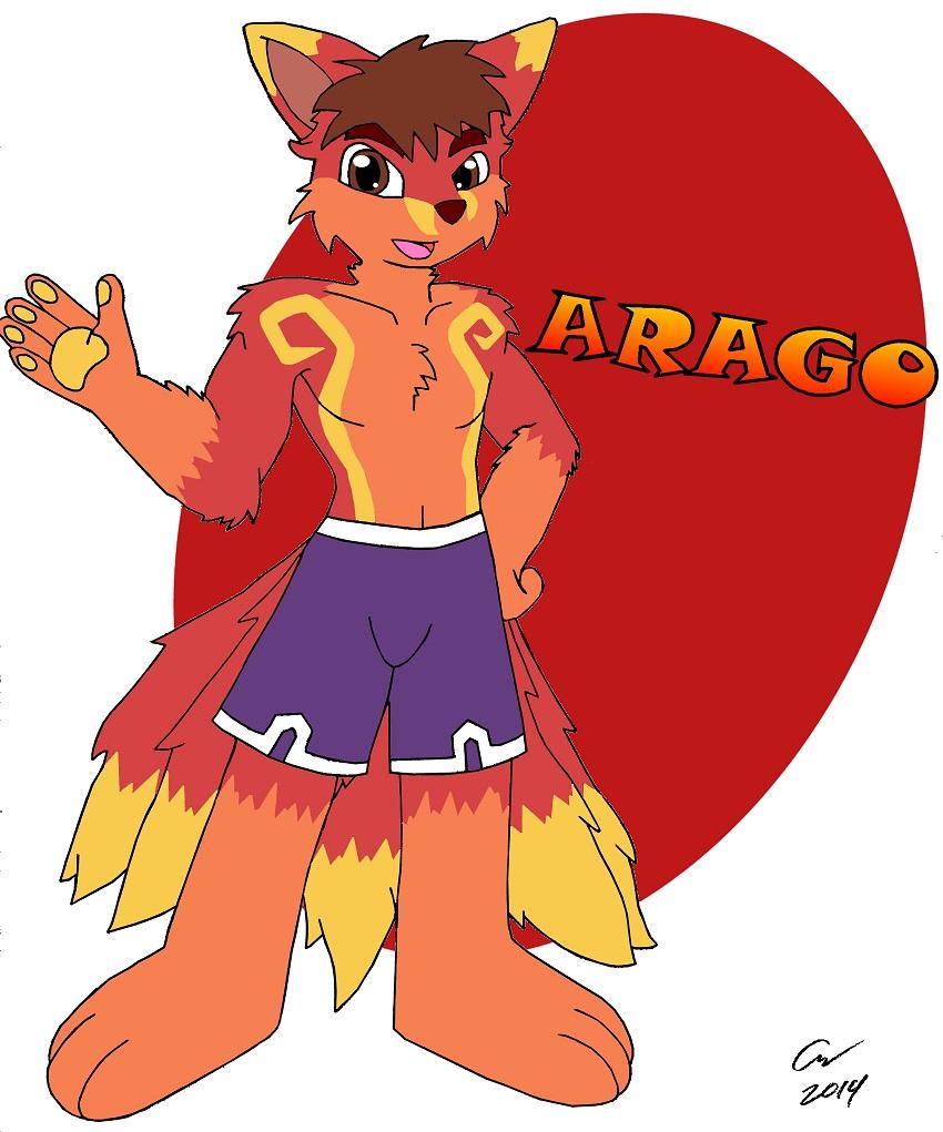 gift art: Arago the Kitsune