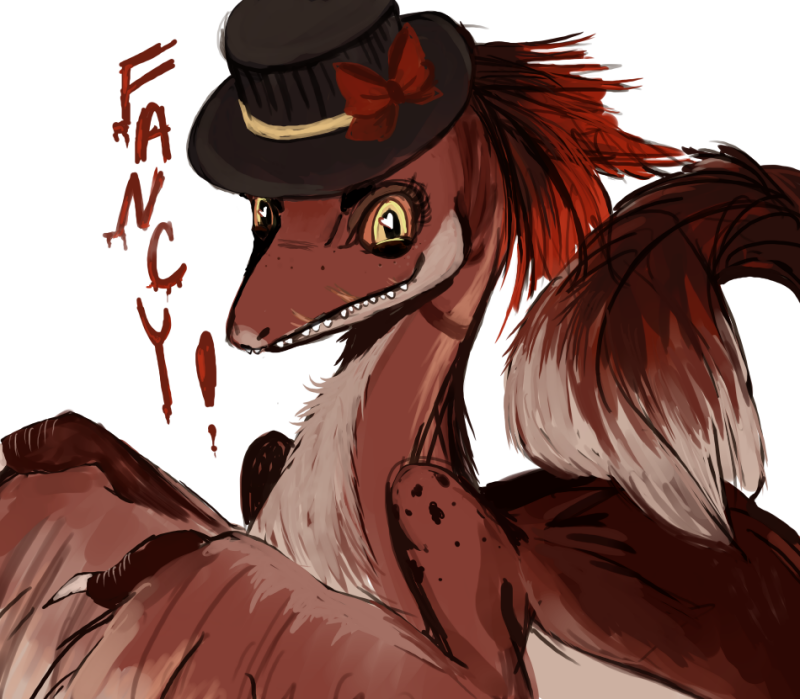 Fancy the Velociraptor