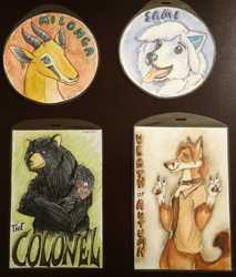 Example badges!!