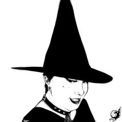 Witchy Self Portrait - Study