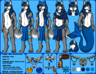 Reference Sheet - Maku