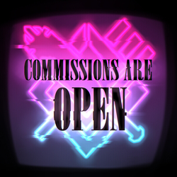 ☆☆☆ Commissions are Open! 3 SLOTS ☆☆☆