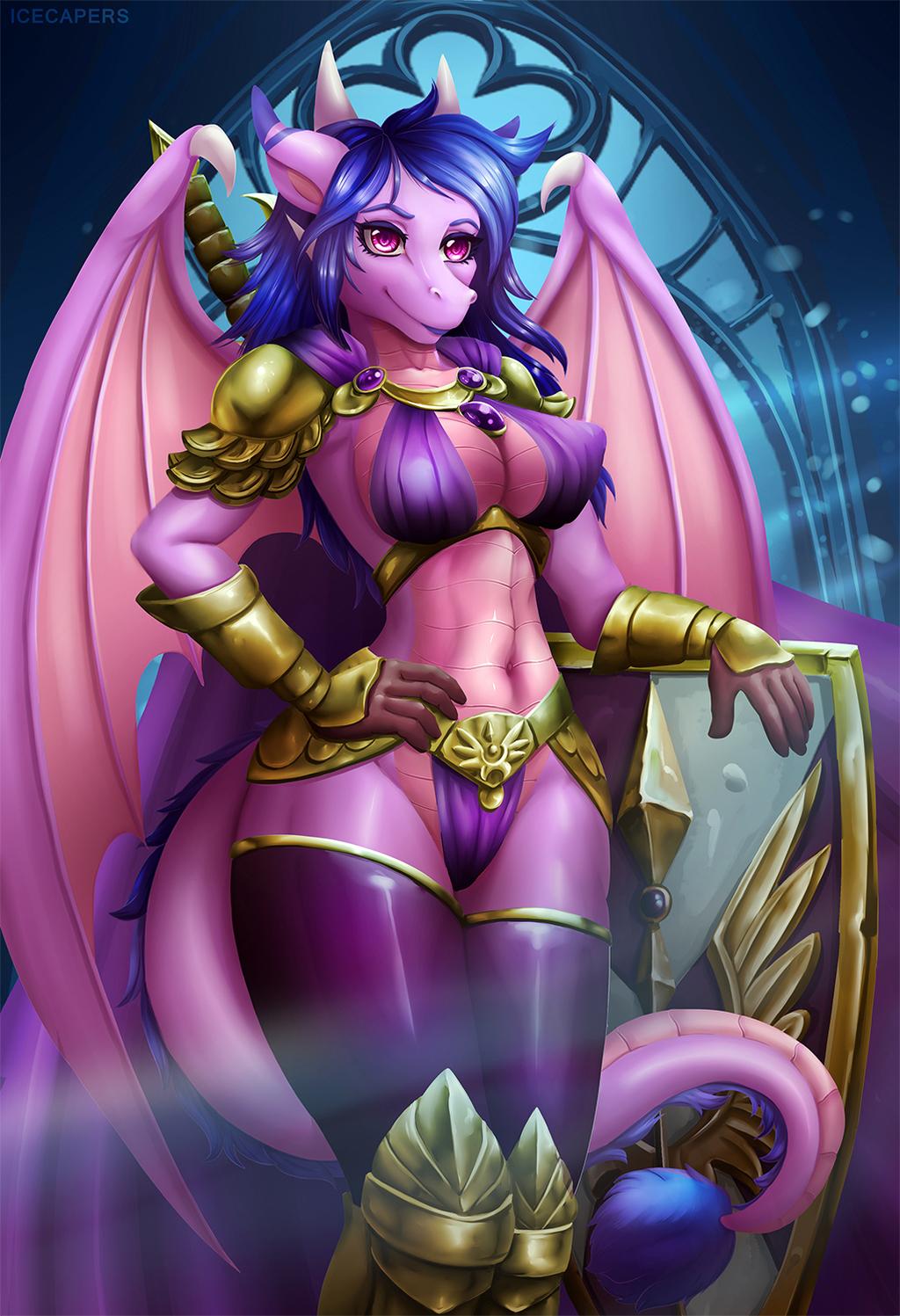 Lady Knight(ych)