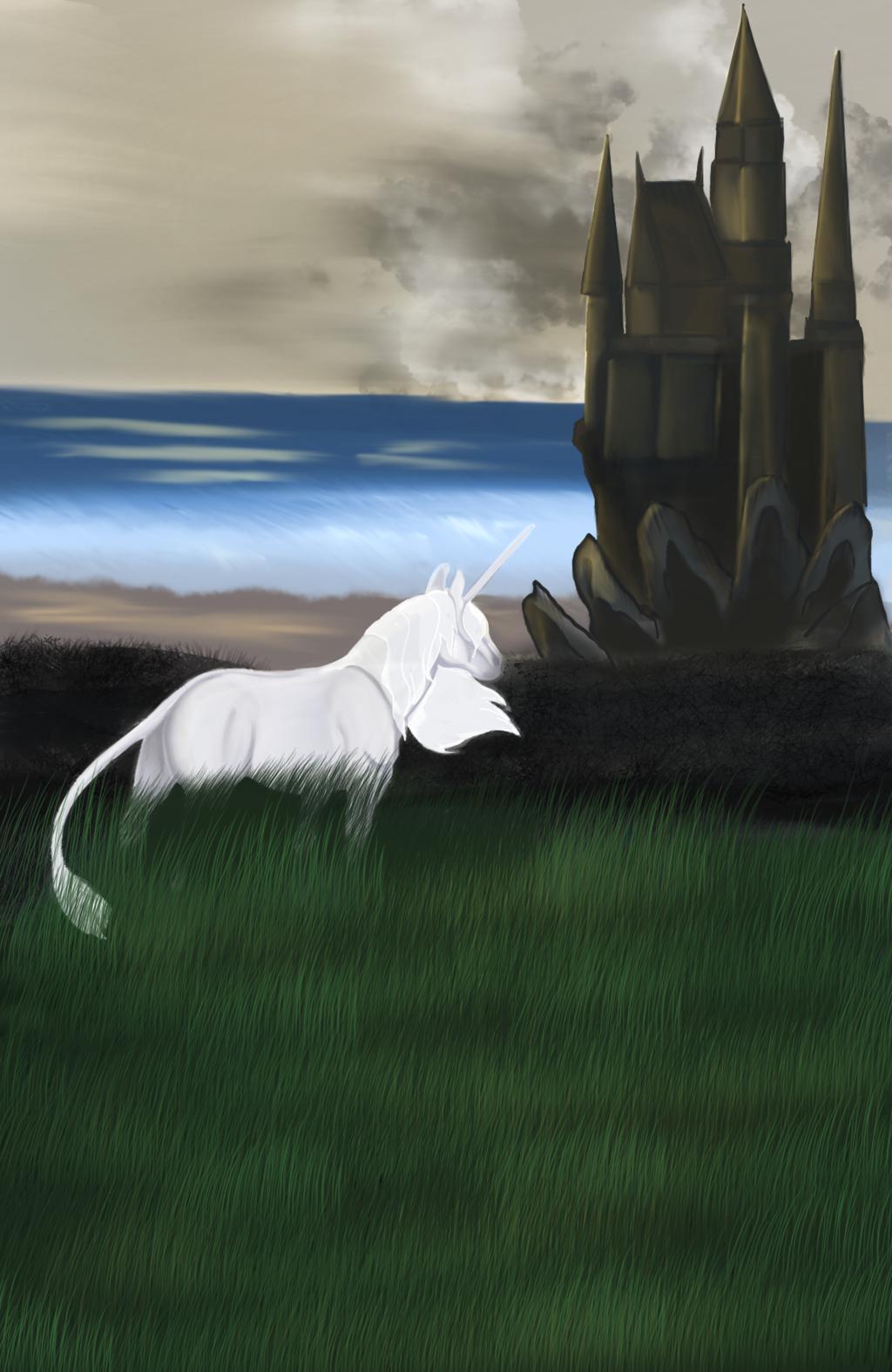 The Last Unicorn Book Cover Redesign