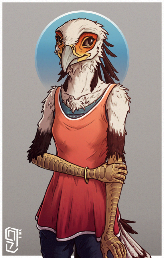 // bashful bird