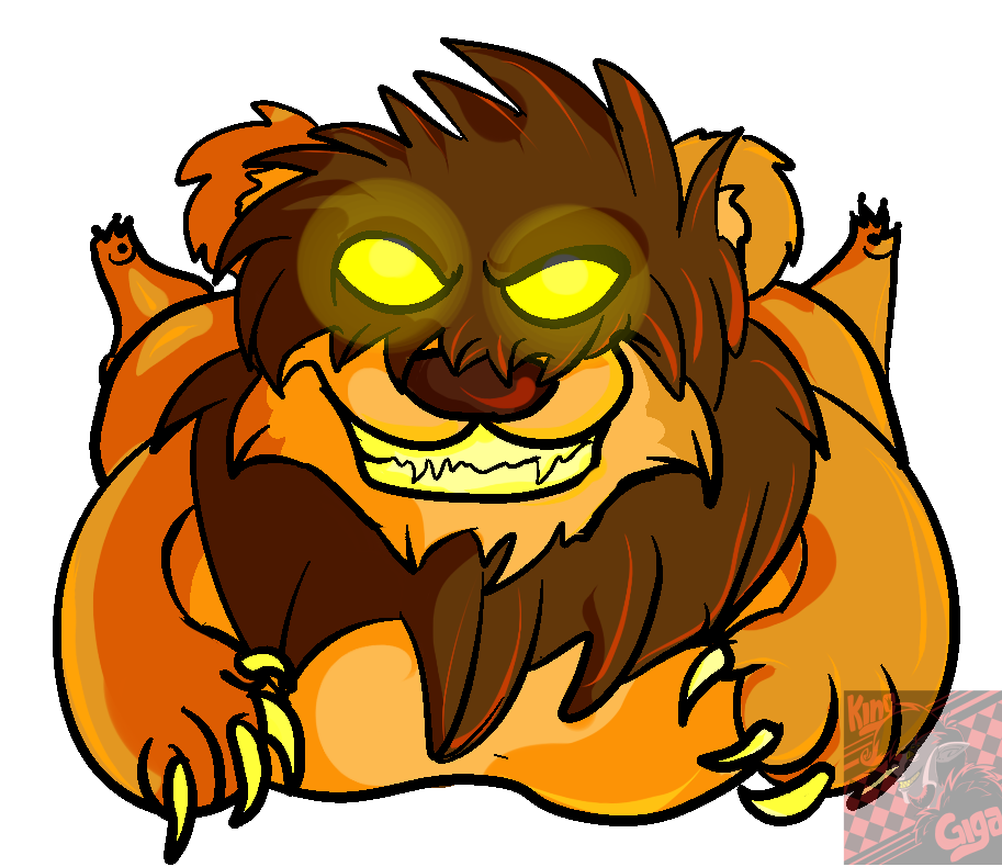 AT: Tangui the fat lion