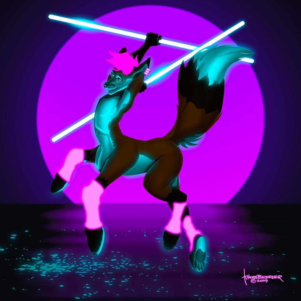 Most recent image: Neon Khaos