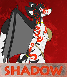 VancouFur 2016 Atlantis Badge - ShadowGoddess