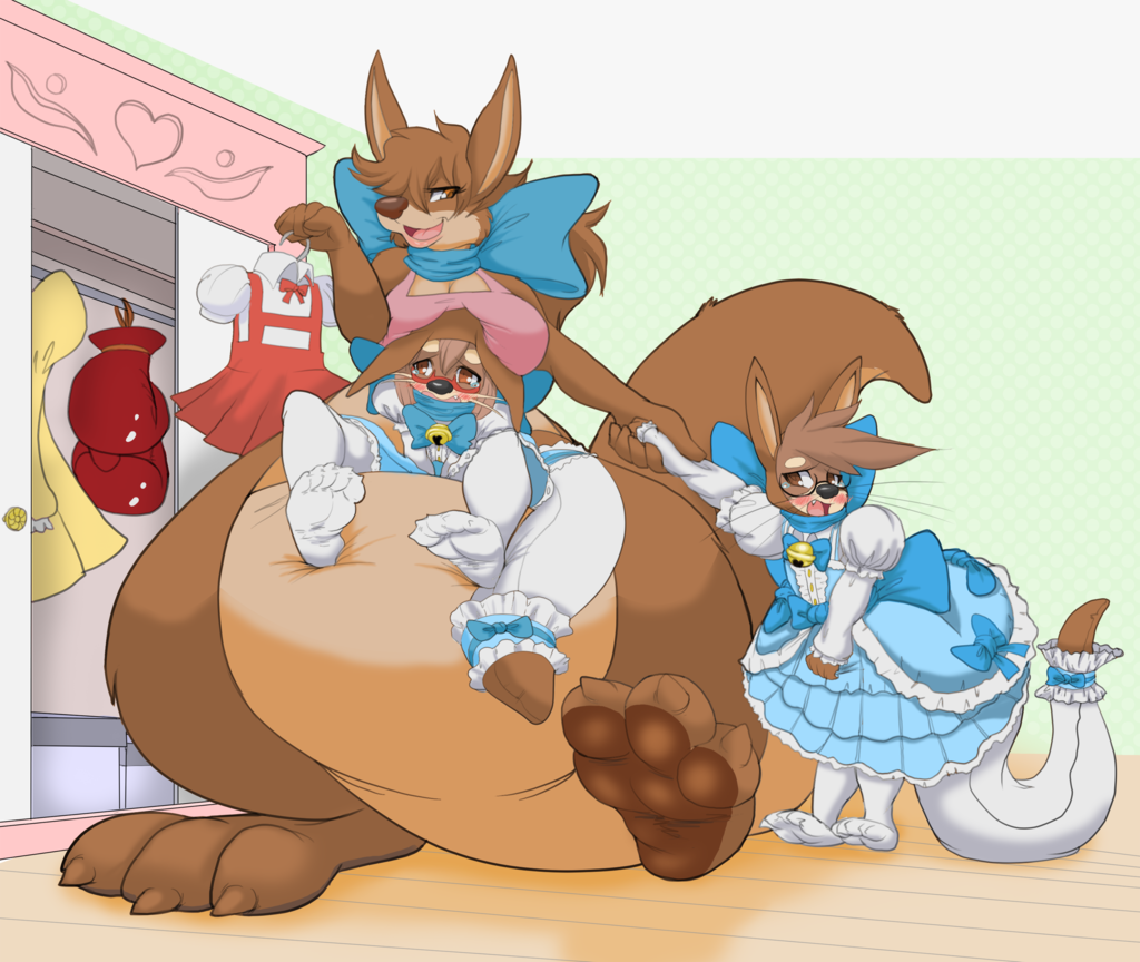 Commission - Mom's Day for Moka