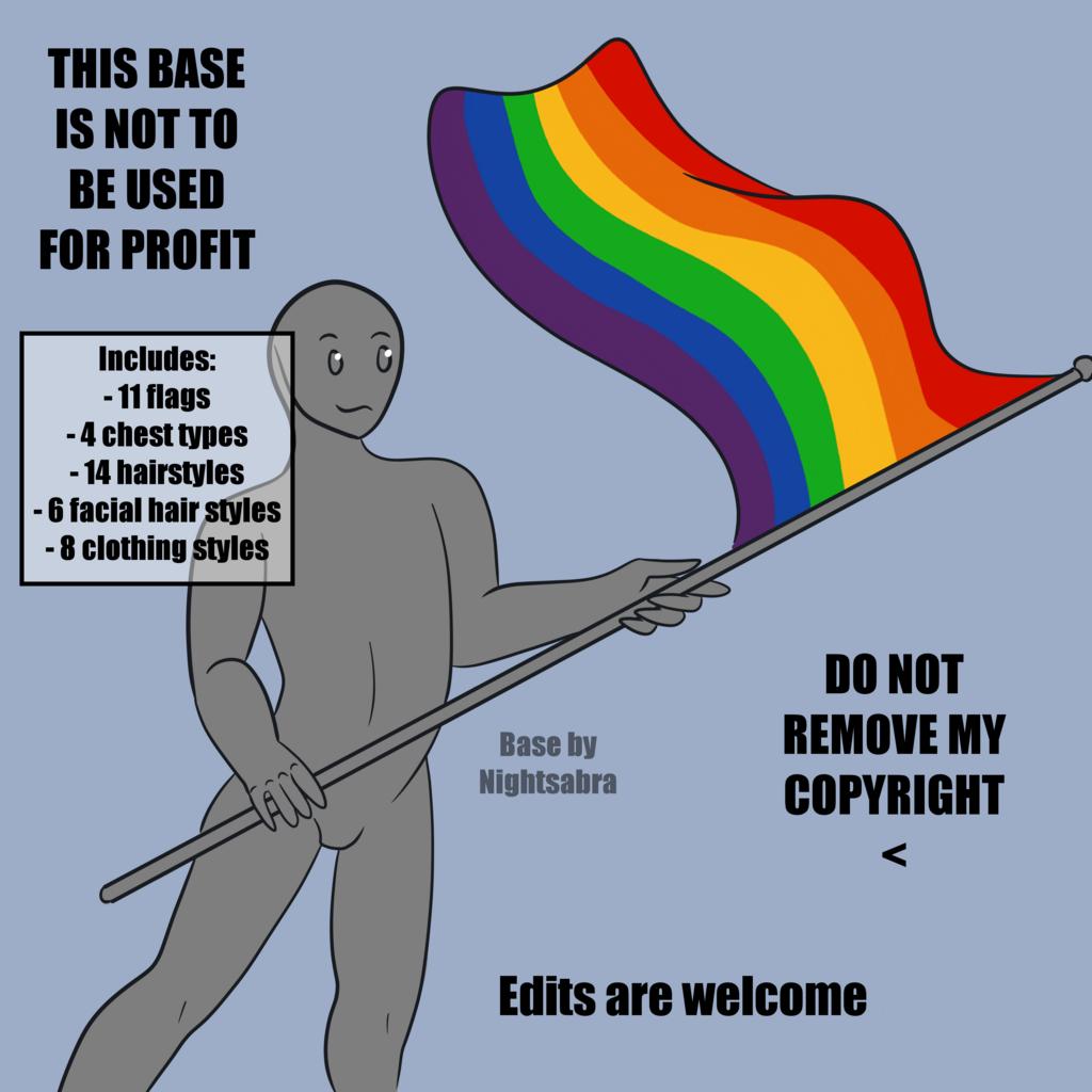 [F2U]Pride Base - Human