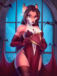 Valentina the Vampire by Art-Abaddon - Part One