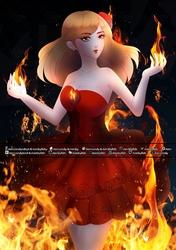 Inferno Girl Fia + Speedpaint