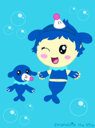 Popplio Gijinka and Popplio