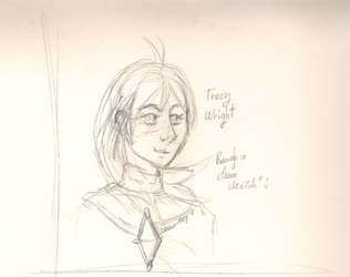Trucy Wright (Rough sketch)