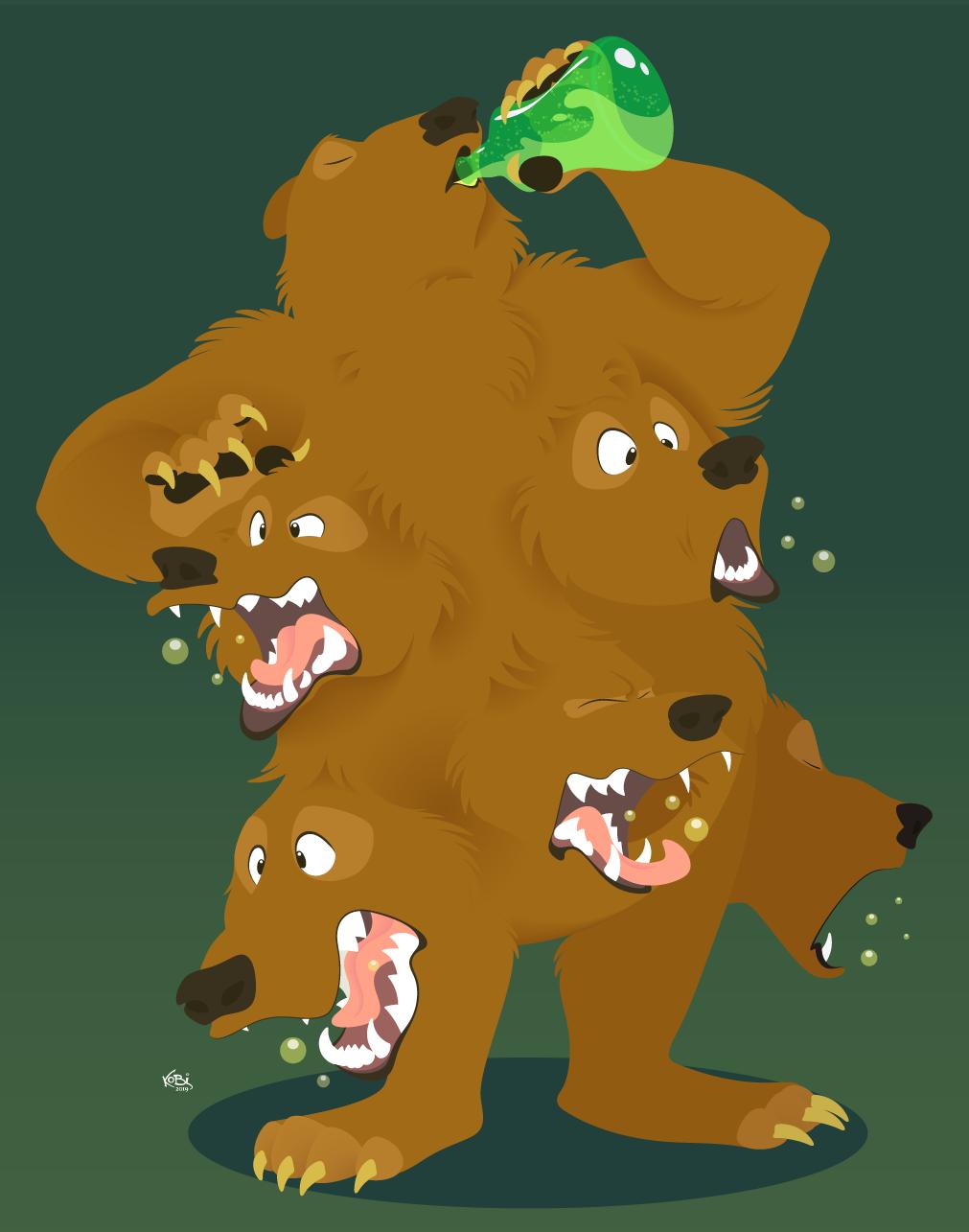 Multi Bear Beer