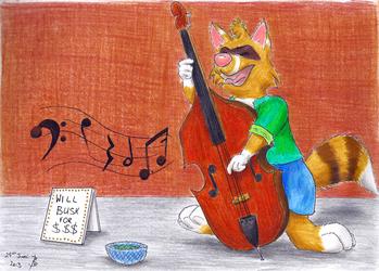 Bass Buskin'
