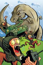 Monkeys vs T-Rex: A One sided-battle