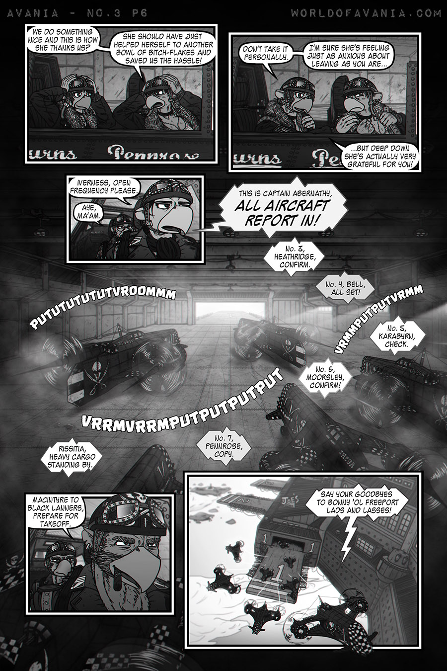 Avania Comic - Issue No.3, Page 6