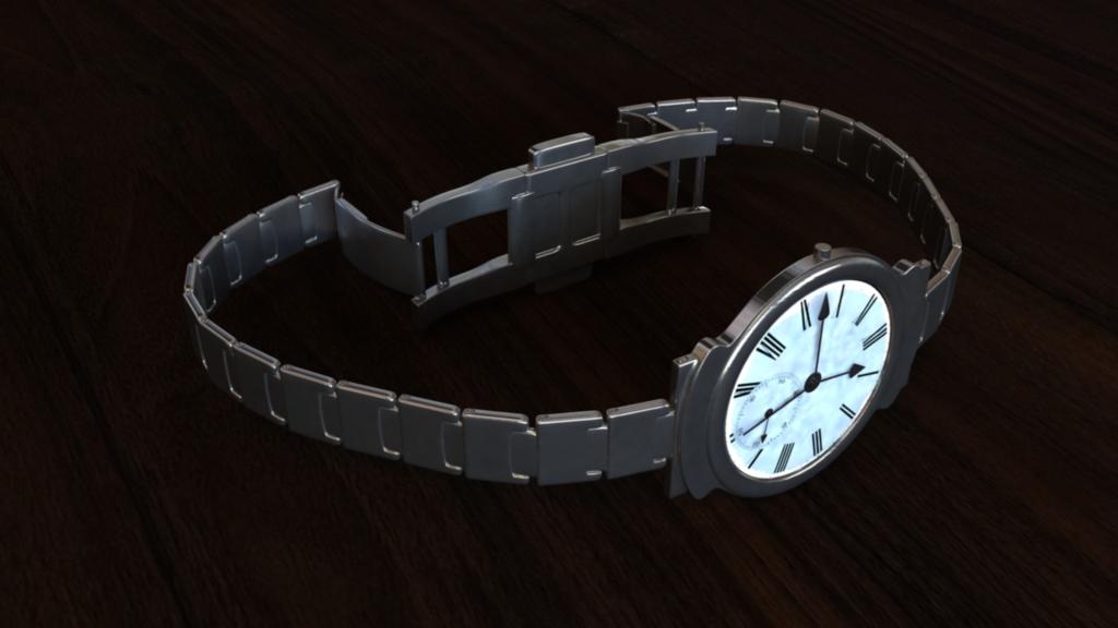 [3D] Watch Render
