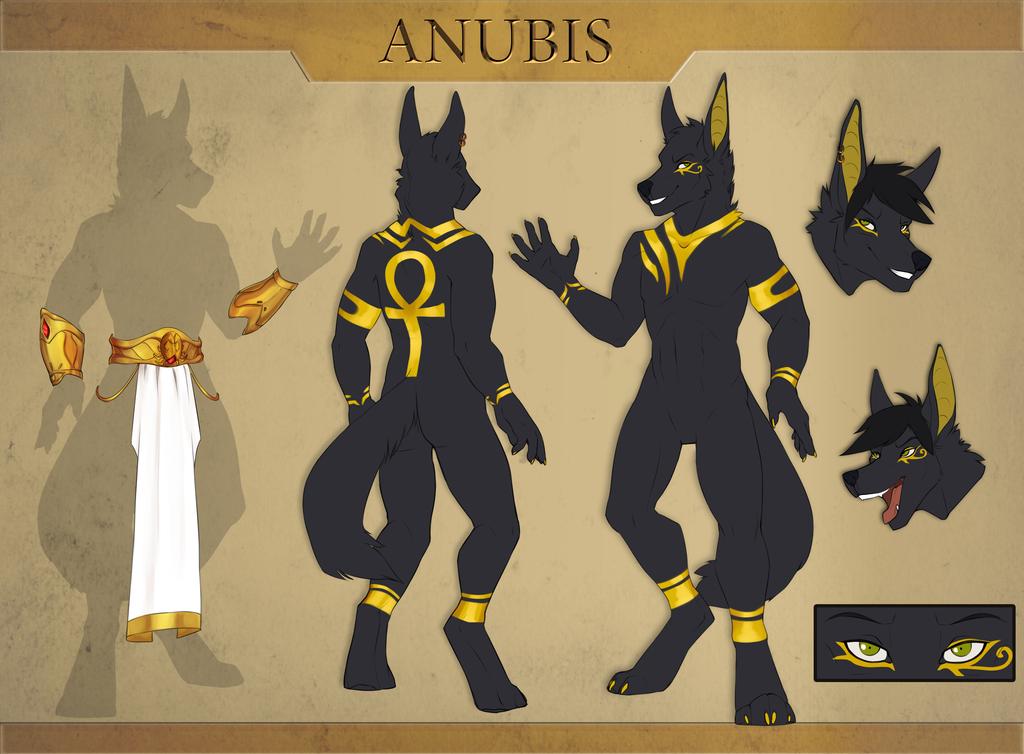 Most recent image: [C] - Anubis Ref (SFW) - by UnistaArt