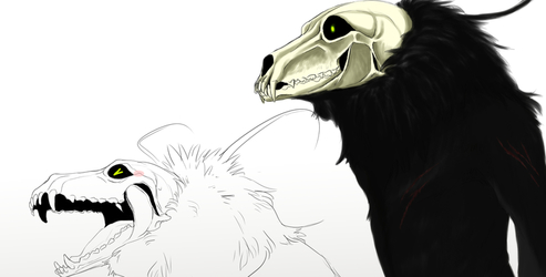 Raggs, The Shadow Child WIP