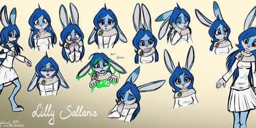 Lilly Sallaris Expression Sheet