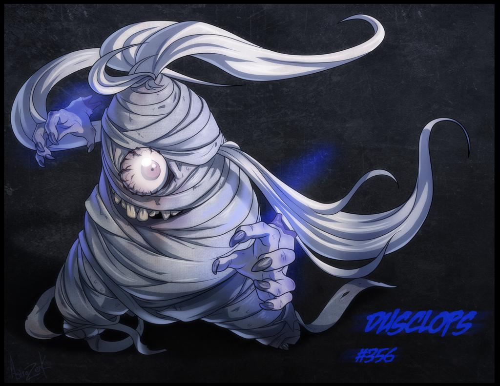13 ghost of pokemon - DUSCLOPS