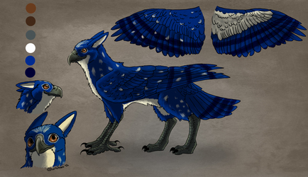 Blue Gryphon Character Sheet
