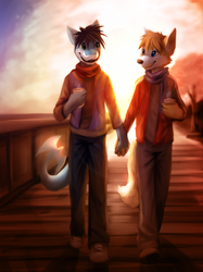 [CM-Collab] Walking in Bathed Light