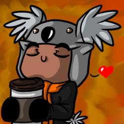 Mmm, coffee~