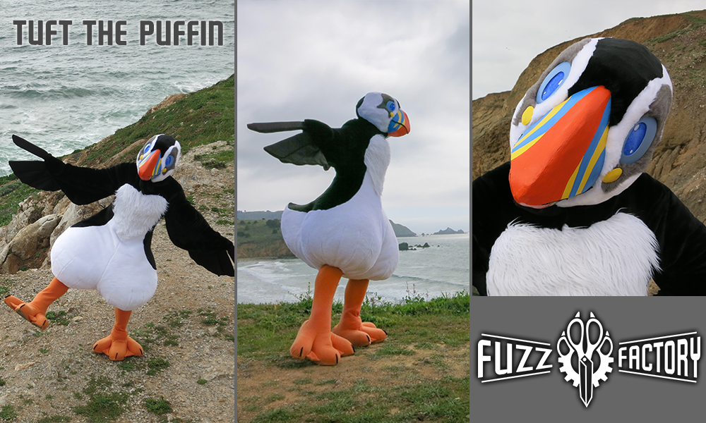 Tuft the Puffin