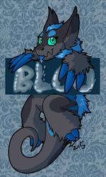Bloo confuzzled badge