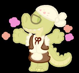 A Flower Cupid LobstGator!