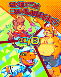 Sketch Commissions!