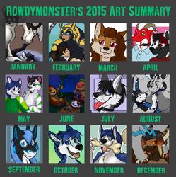 Rowdymonster's 2015 Art Summary