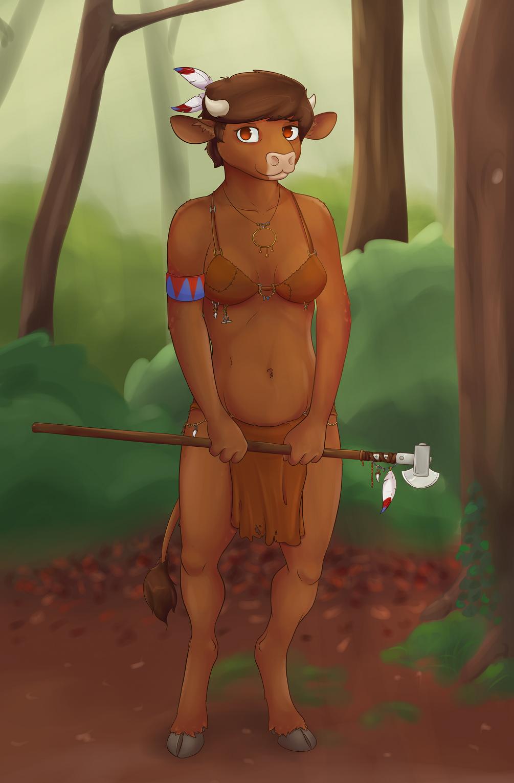 Klava, the Littlest Minotaur