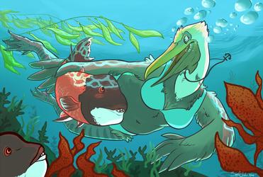 Summer Art Exchange 2014- Slothbug