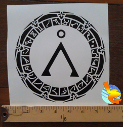 Stargate Vinyl Sticker