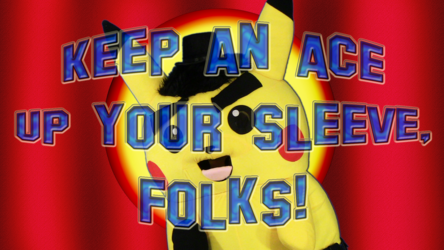 """Mascot Pikachu Fursuiting: Ace Spade Does a """"Looney"""" Dance"""