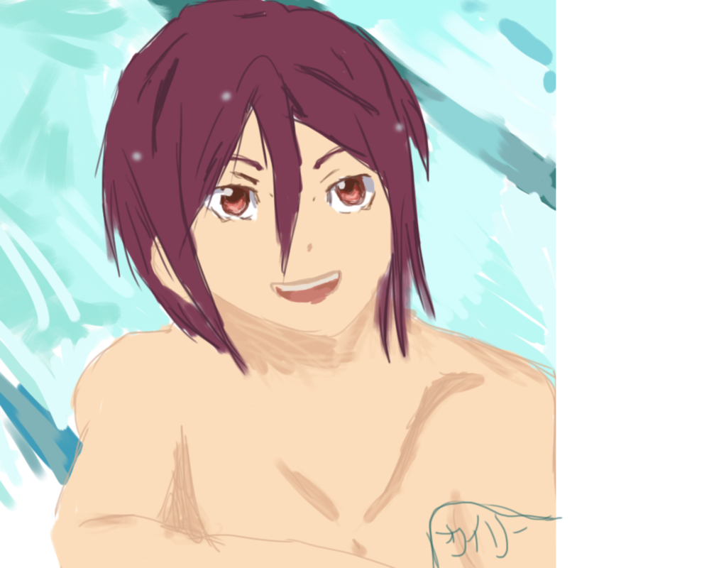 Rin from Free!