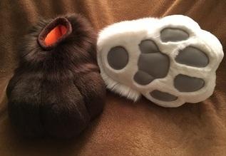 Sockpaws Commission - Sarahcat