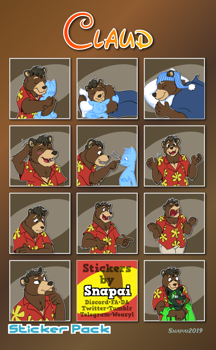 Claud Telegram Stickers