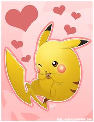 Pikachu has a Cookie
