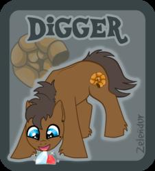 Badge: Digger